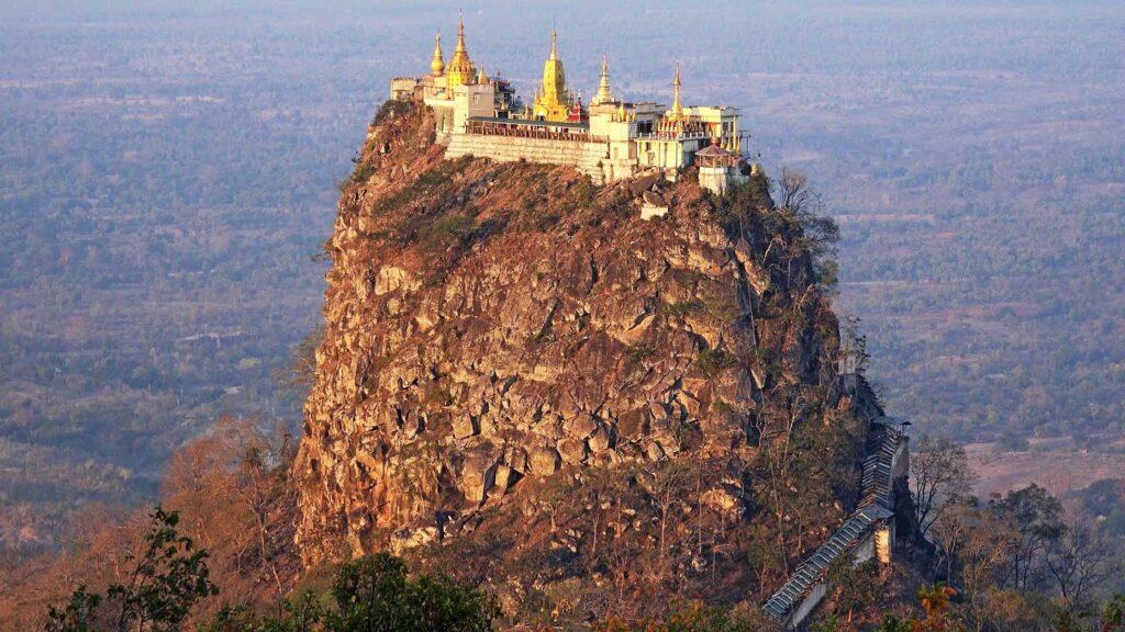 Mount Popa Myanmar