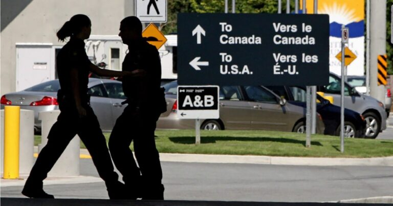 U.S. travellers can cross the Canadian border