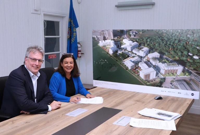 New 740 housing project in Sainte-Anne-de-Bellevue