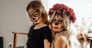 Non toxic face paints for Halloween