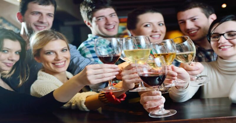 nice glass of wine