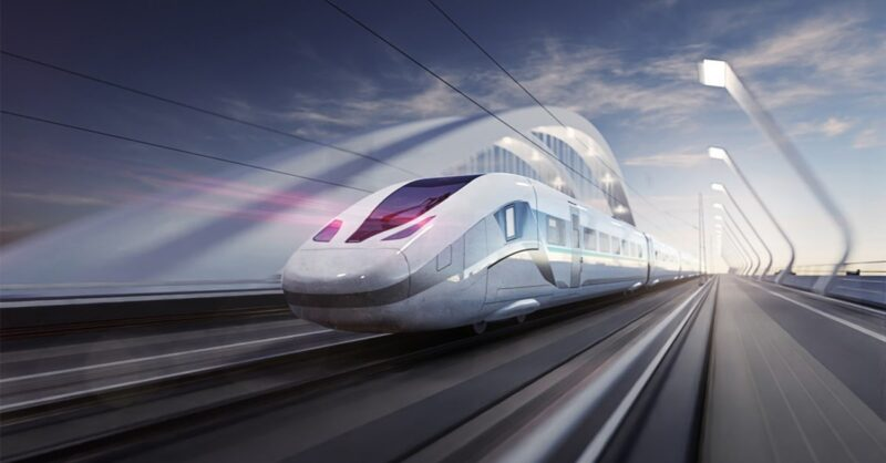 New Canadian high speed train