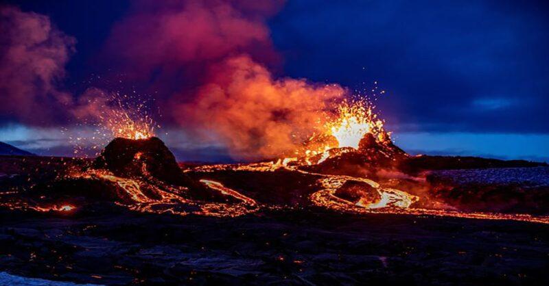 Iceland volcanic eruption