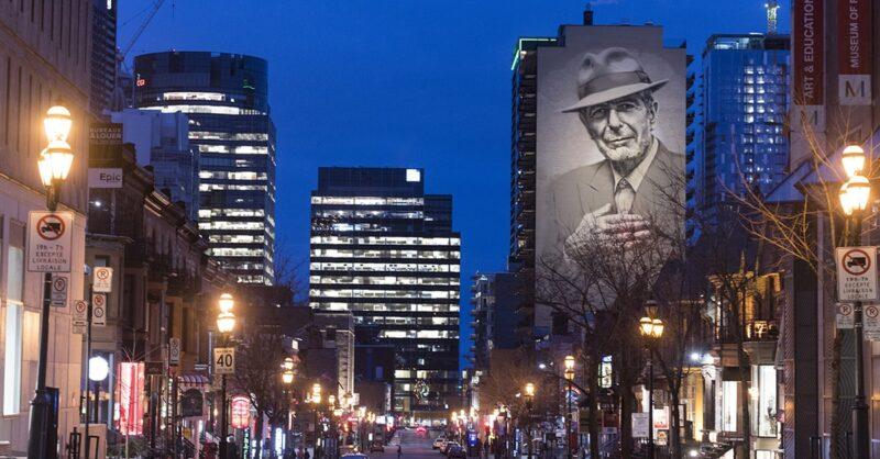 Leonard Cohen murals