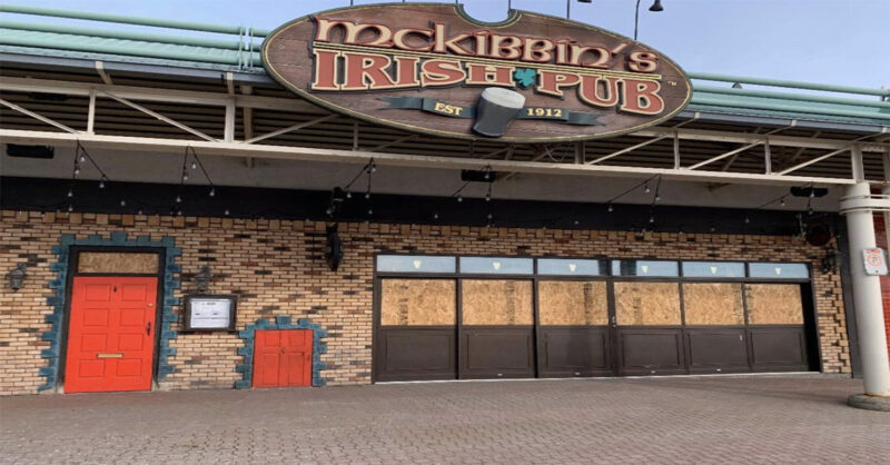 McKibbin's employee tests positive for COVID-19