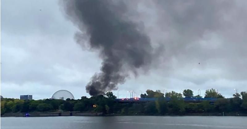 Montreal plane crash