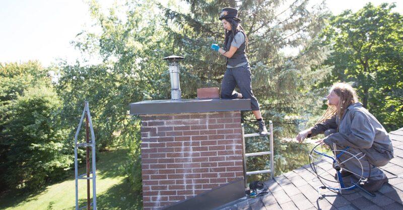 Montreal chimneys