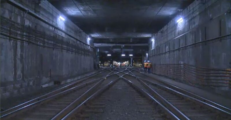 REM explosion in Mount-Royal Tunnel