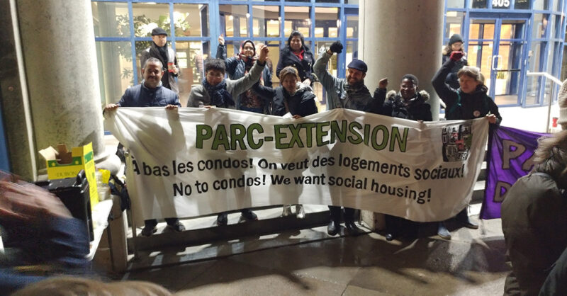 Parc-Extension-protest-No-to-Condos