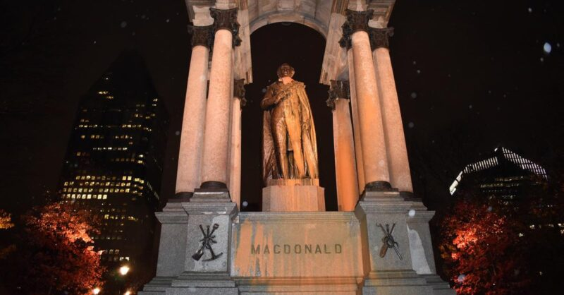 Zombie-Attack-on-Statue-of-Sir-John-A.-Macdonald-min