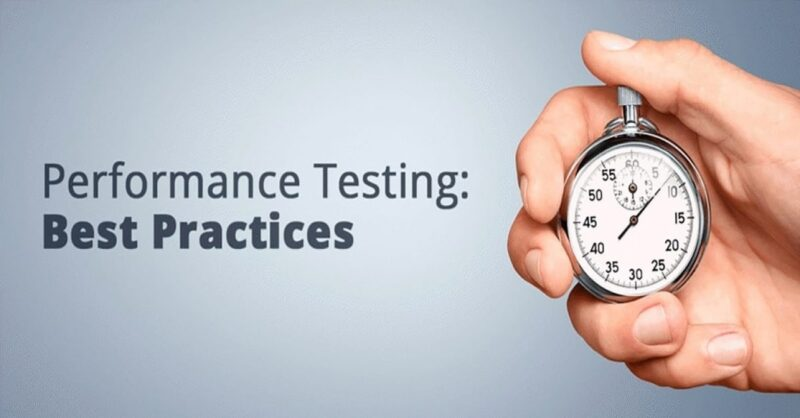 Best performance testing practices