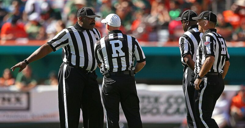 professional referees